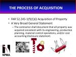 the process of acquisition6