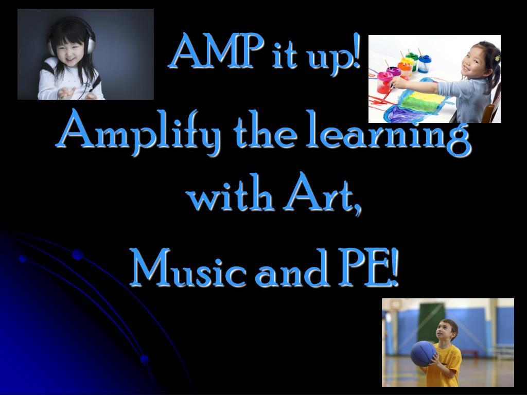 AMP it up!