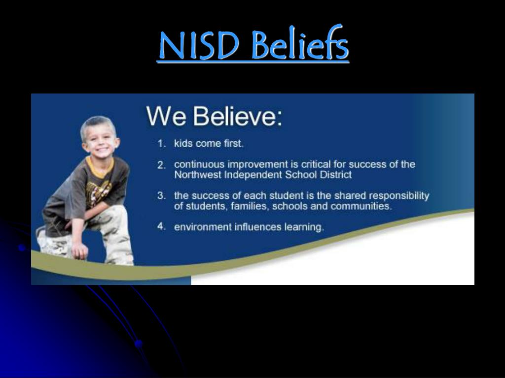 NISD Beliefs