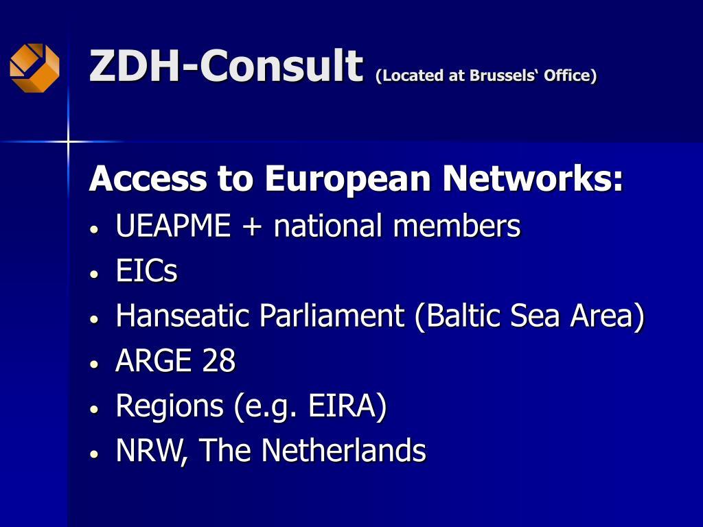ZDH-Consult