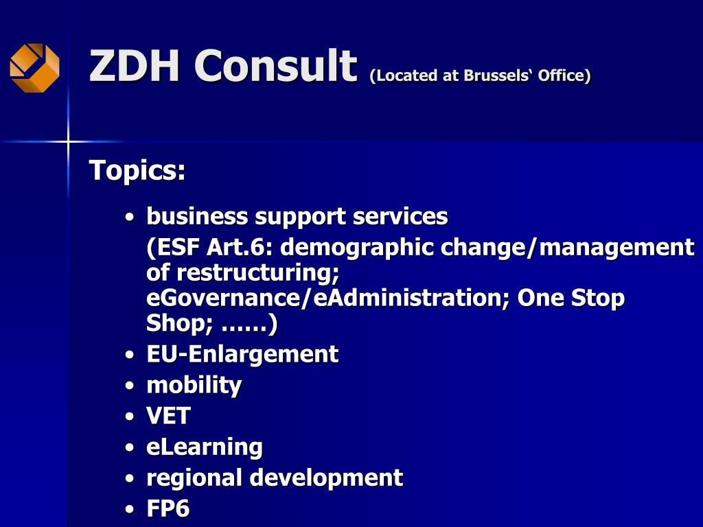ZDH Consult