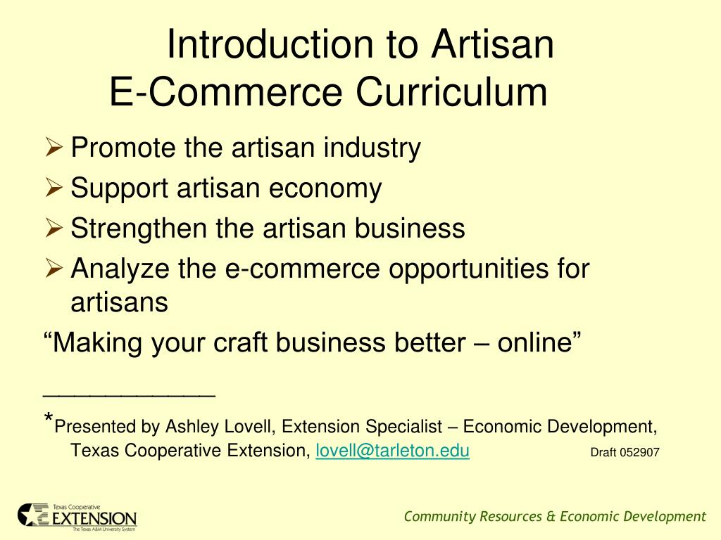 Introduction to Artisan