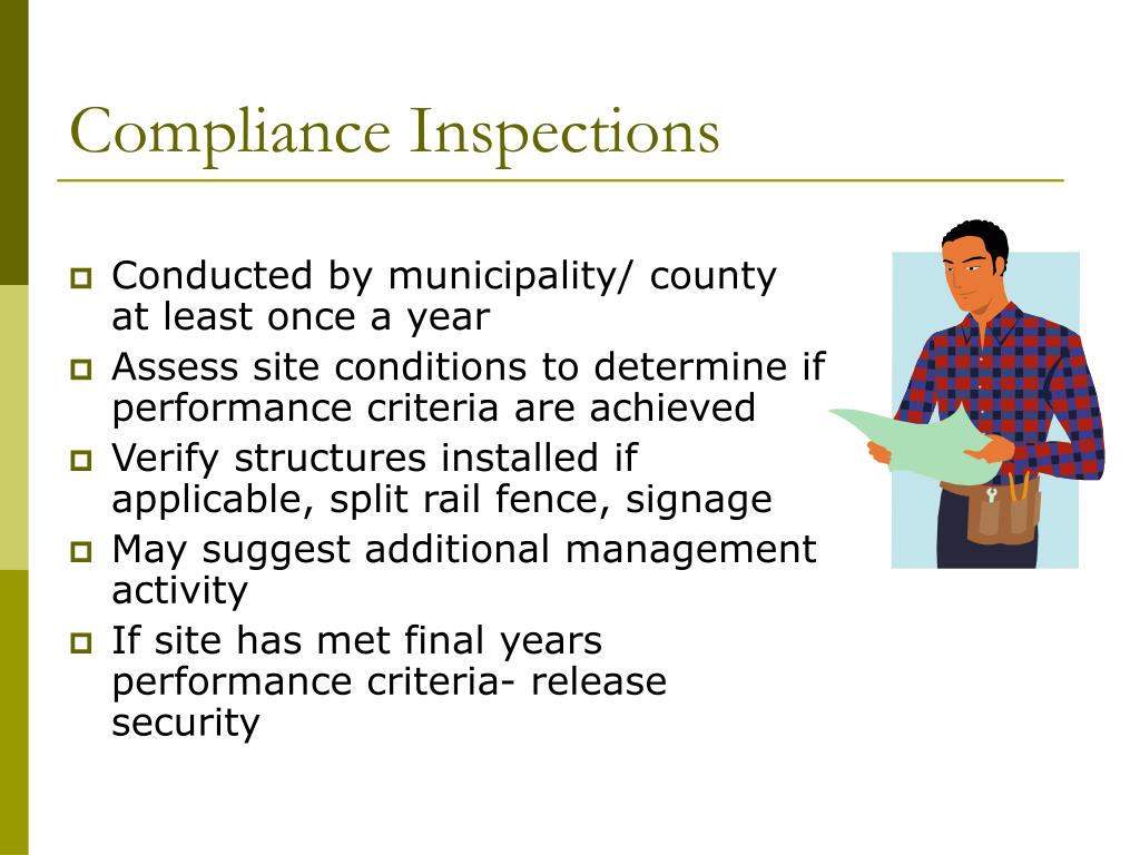 Compliance Inspections