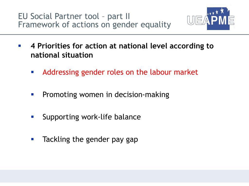 EU Social Partner tool – part II