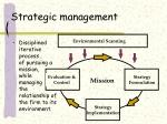 strategic management6