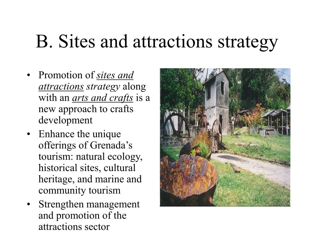 B. Sites and attractions strategy