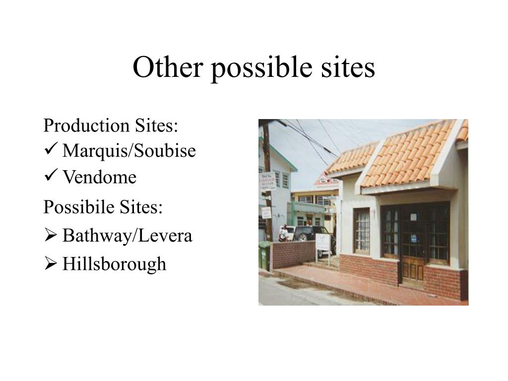 Other possible sites