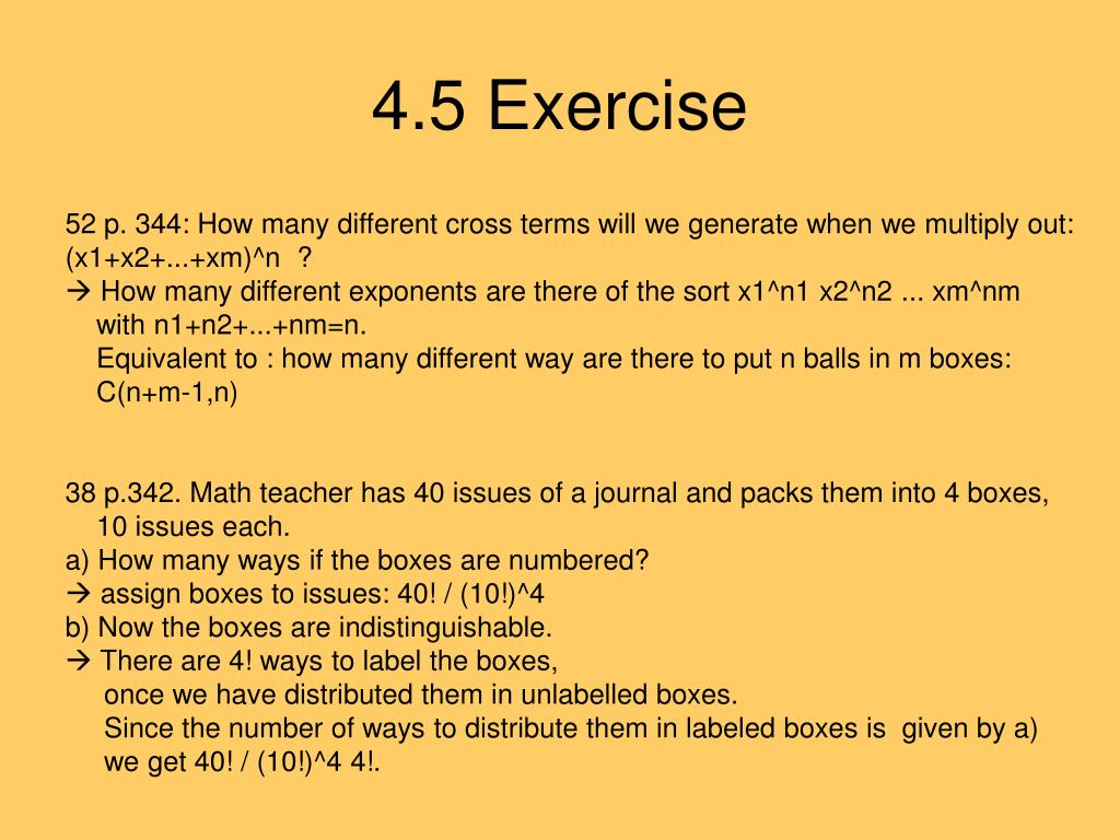 4.5 Exercise