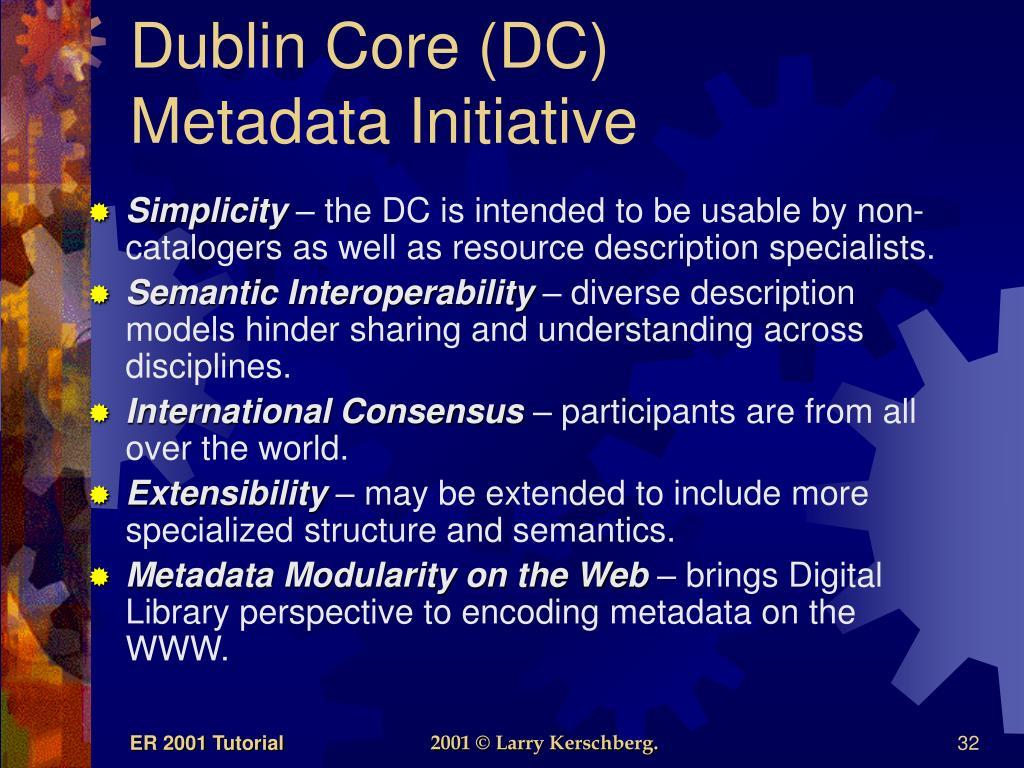 Dublin Core (DC)