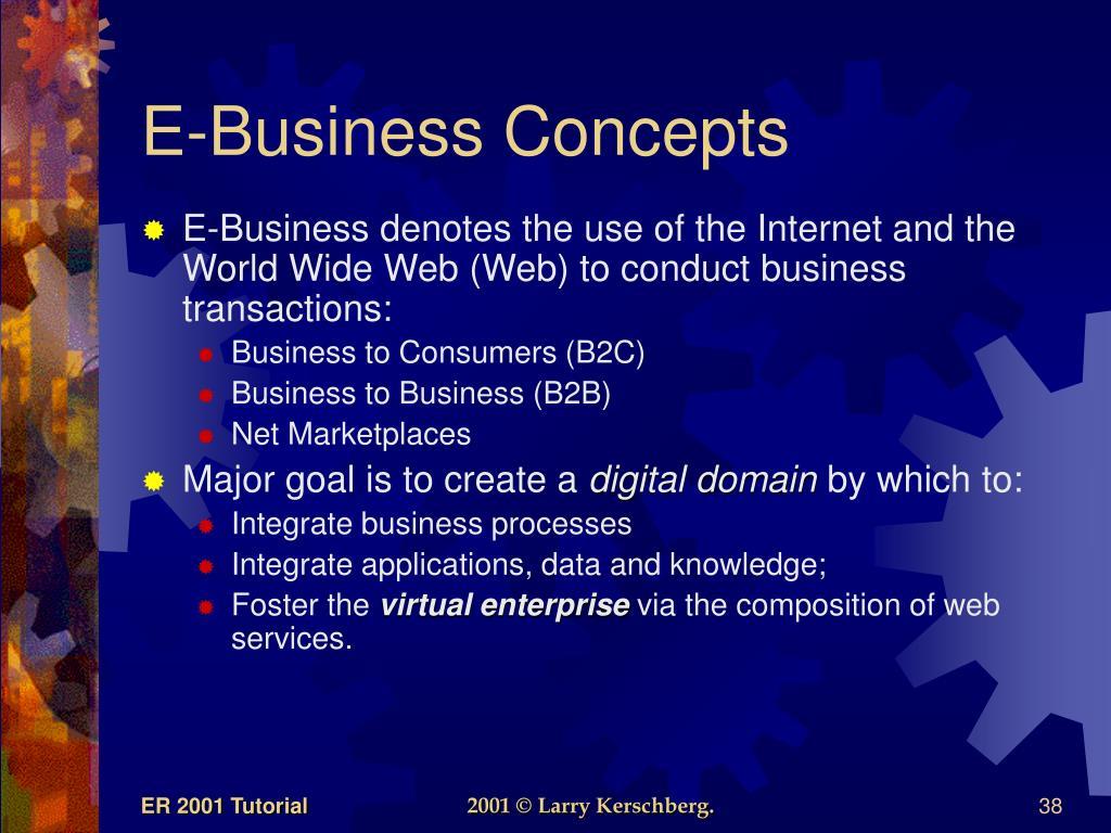 E-Business Concepts