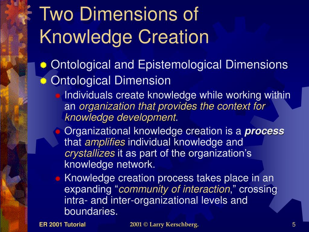 Two Dimensions of