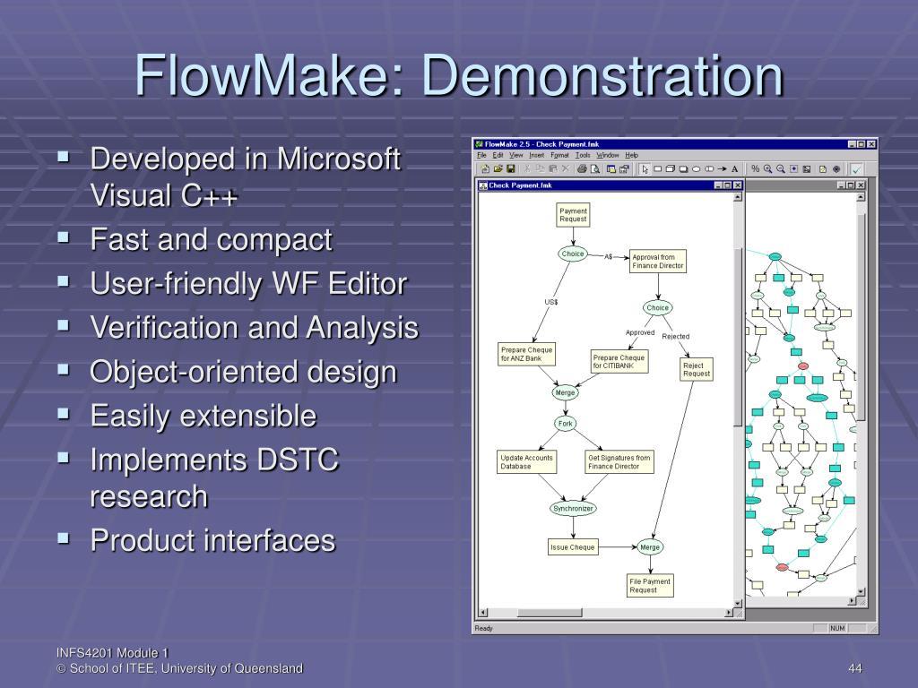 FlowMake: Demonstration