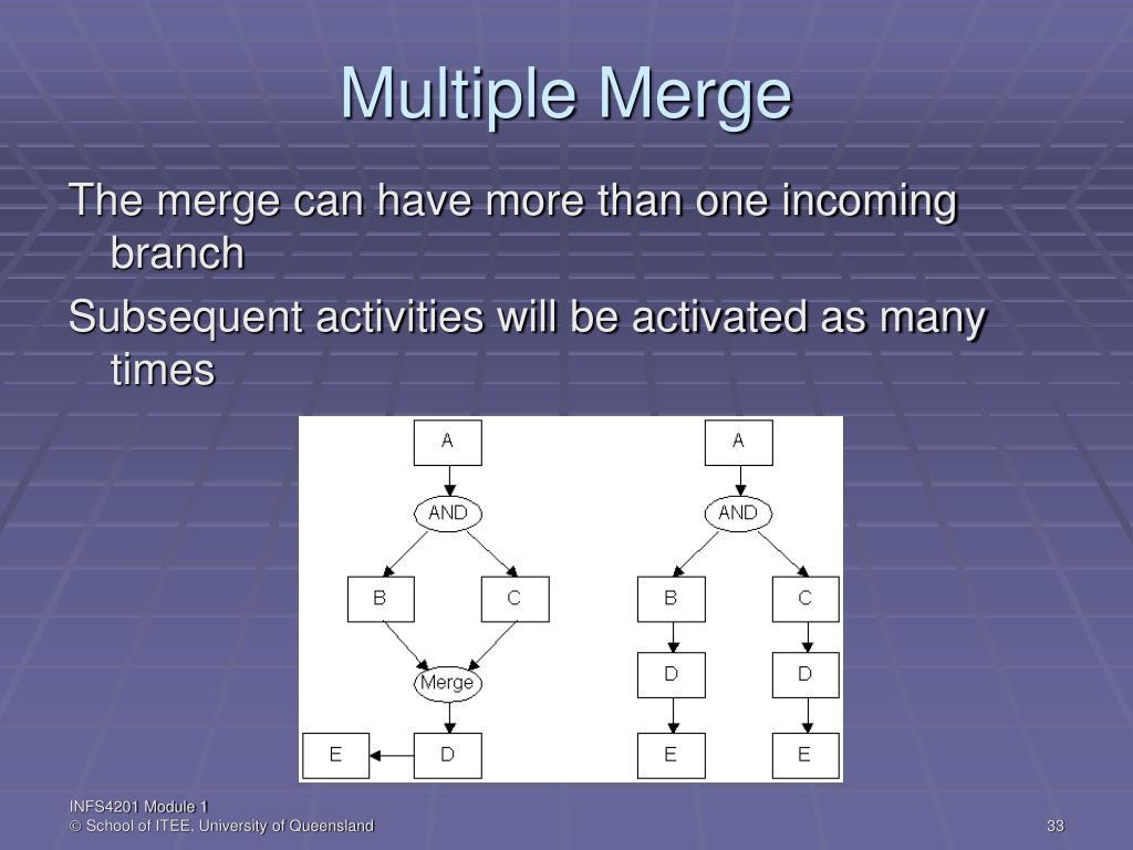 Multiple Merge