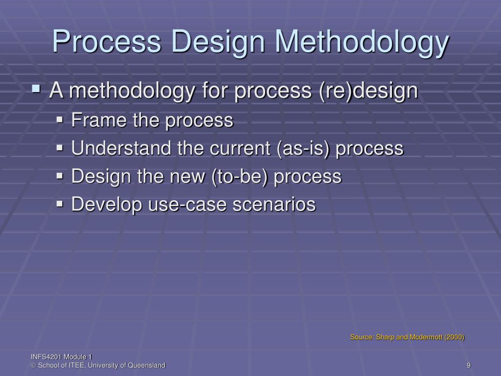 Process Design Methodology