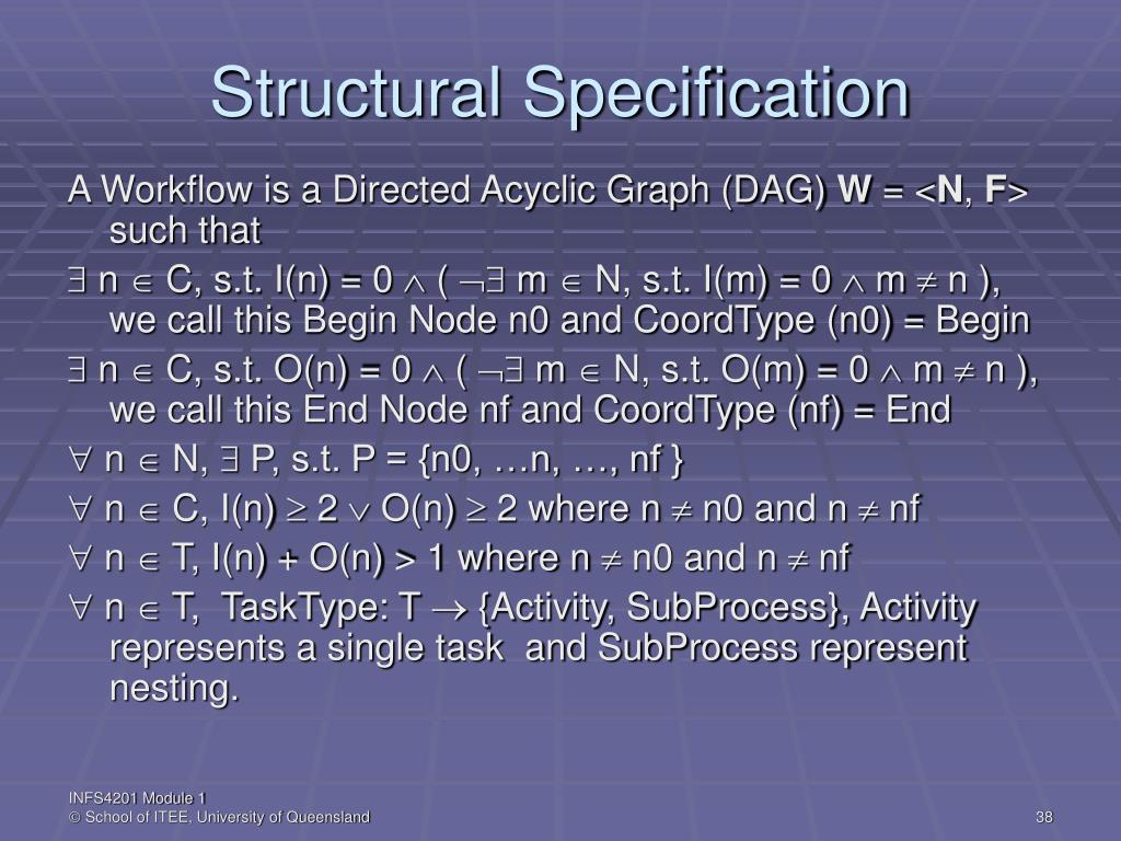 Structural Specification