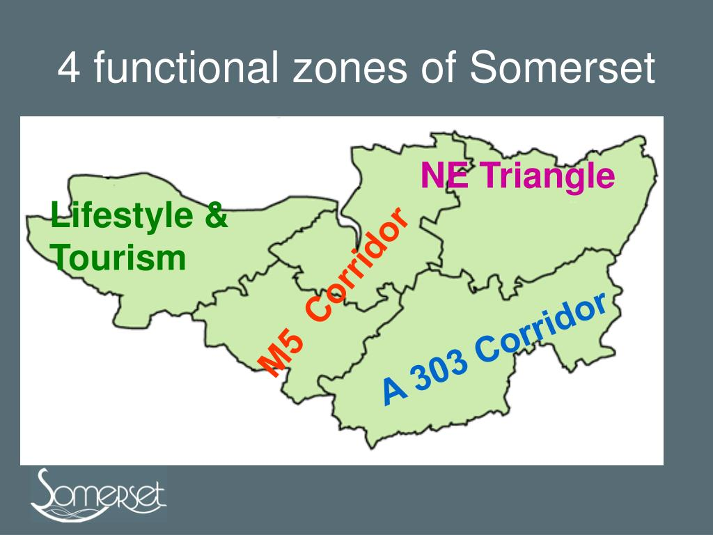 4 functional zones of Somerset