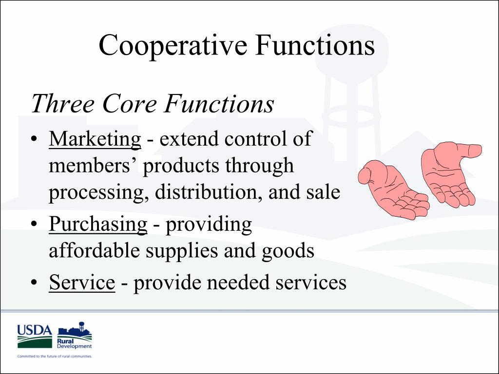 Cooperative Functions