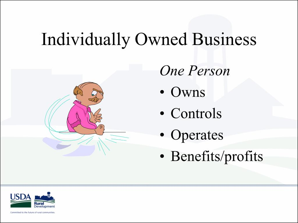 Individually Owned Business