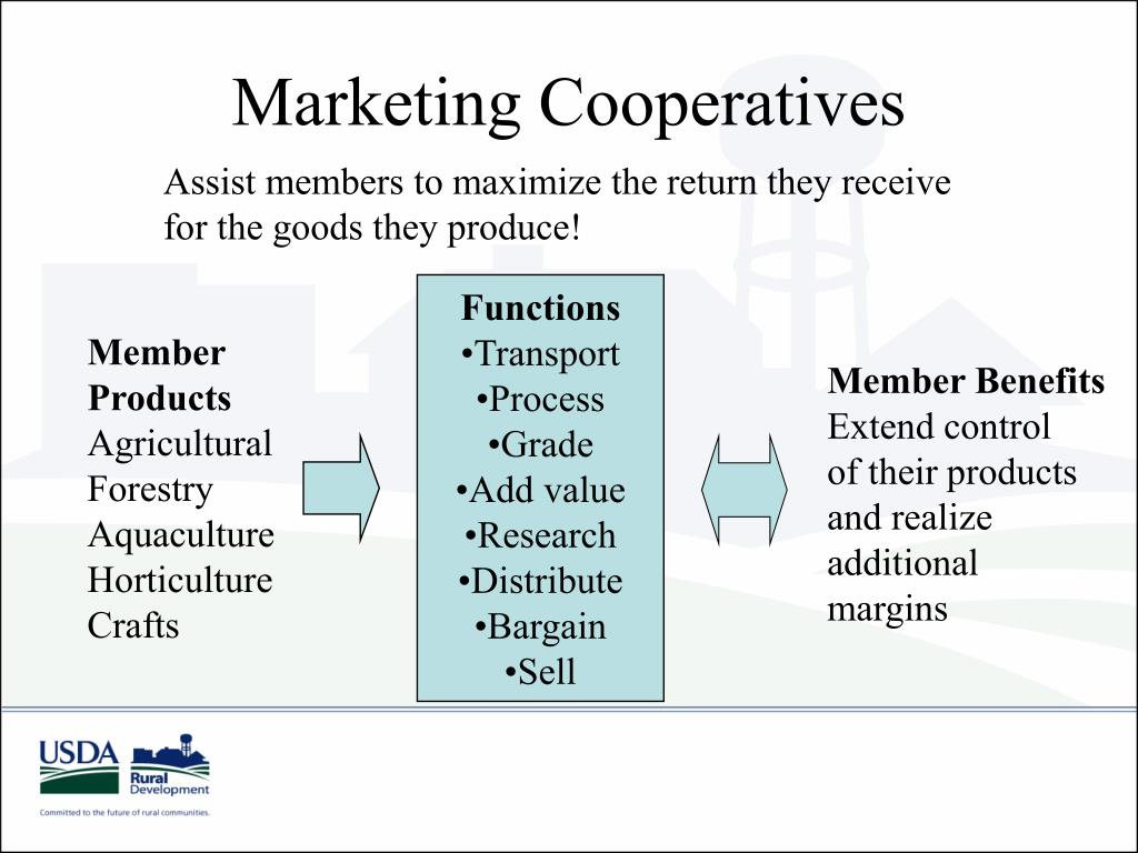Marketing Cooperatives