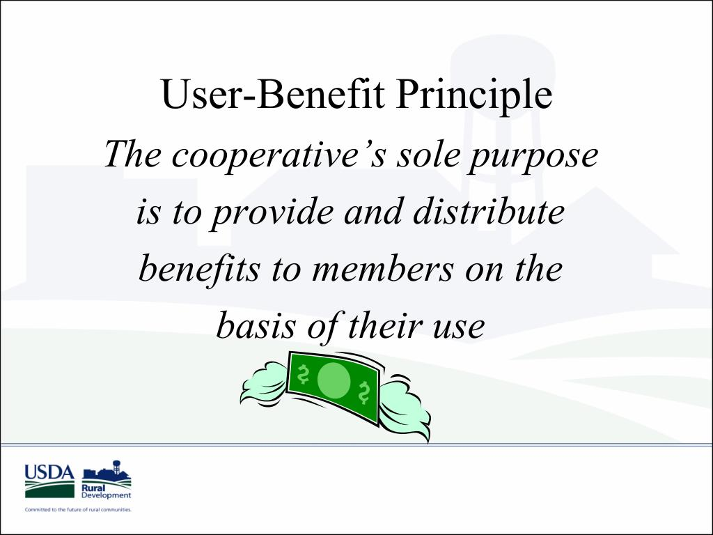 User-Benefit Principle
