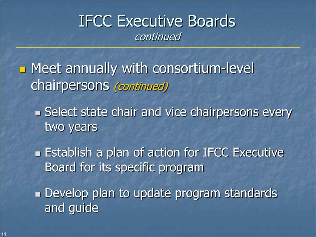 IFCC Executive Boards
