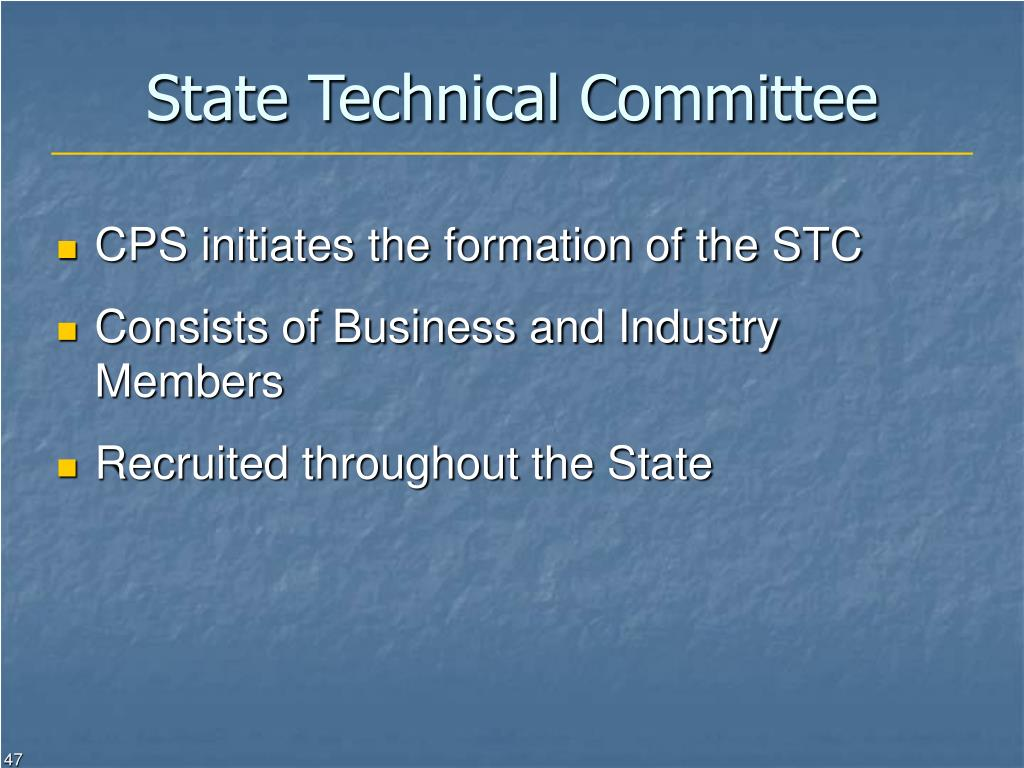 State Technical Committee