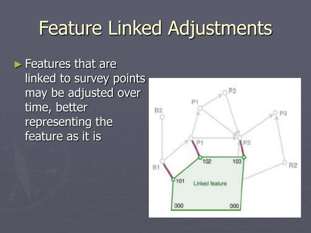 Feature Linked Adjustments
