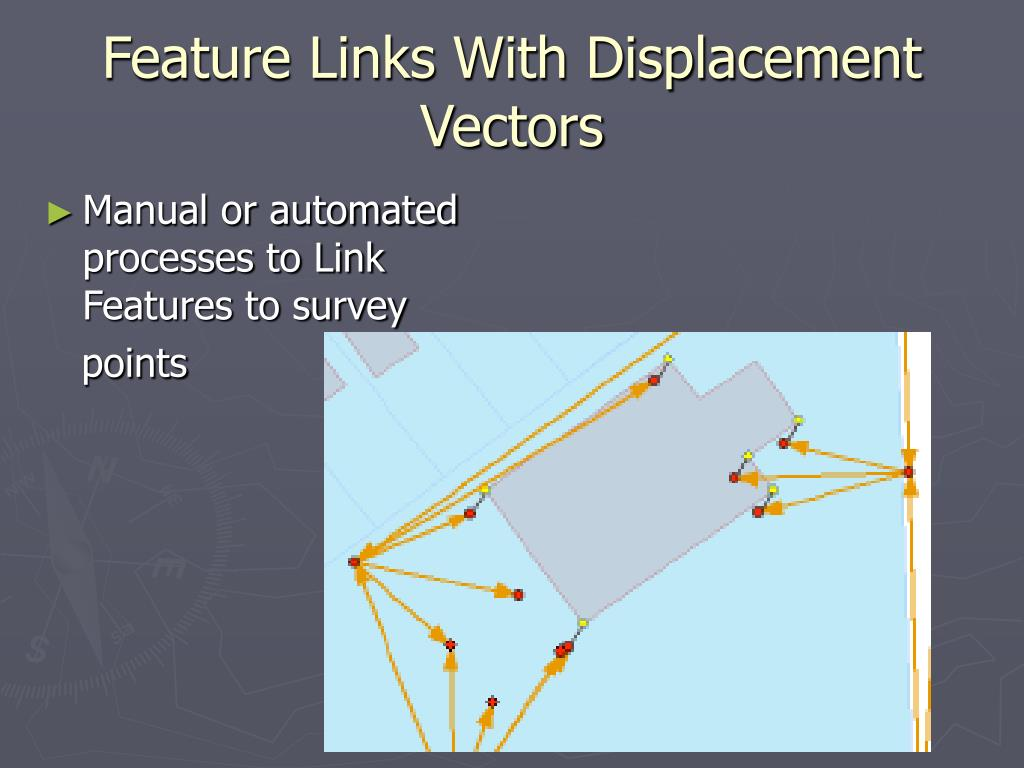 Feature Links With Displacement Vectors