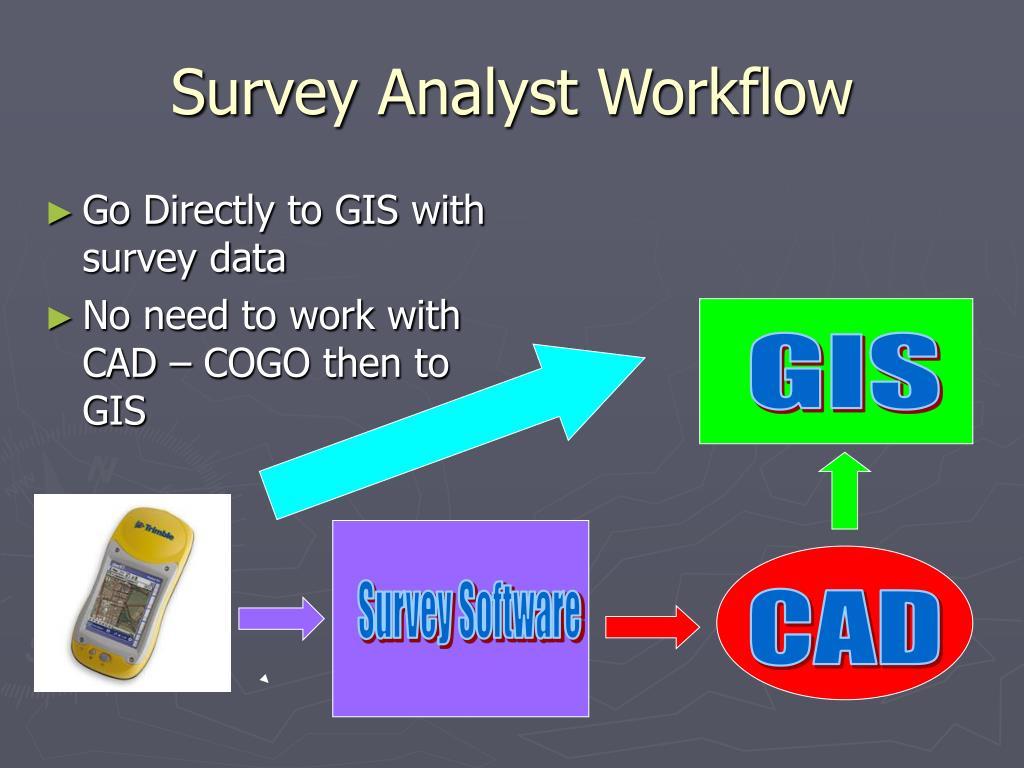 Survey Analyst Workflow