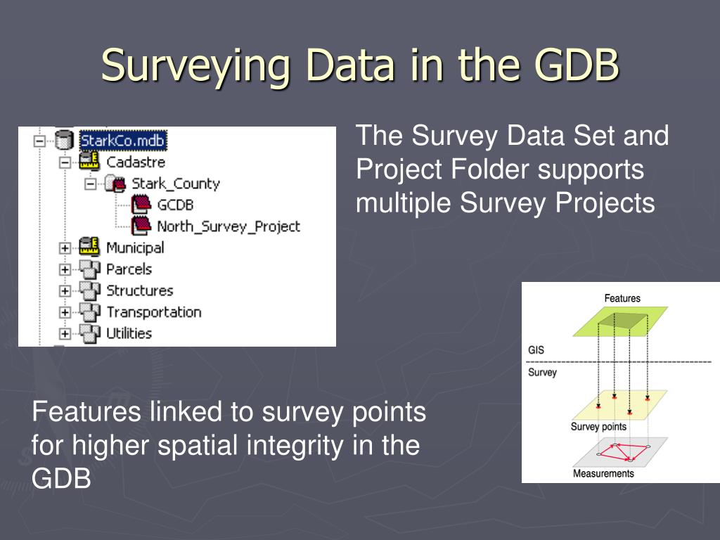 Surveying Data in the GDB