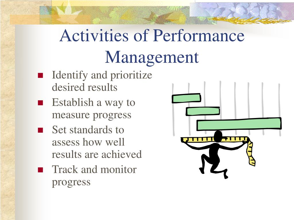 Activities of Performance Management