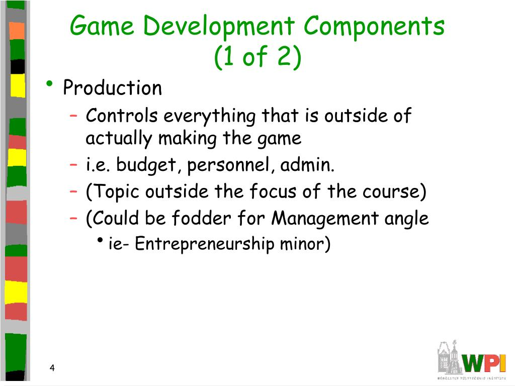 Game Development Components