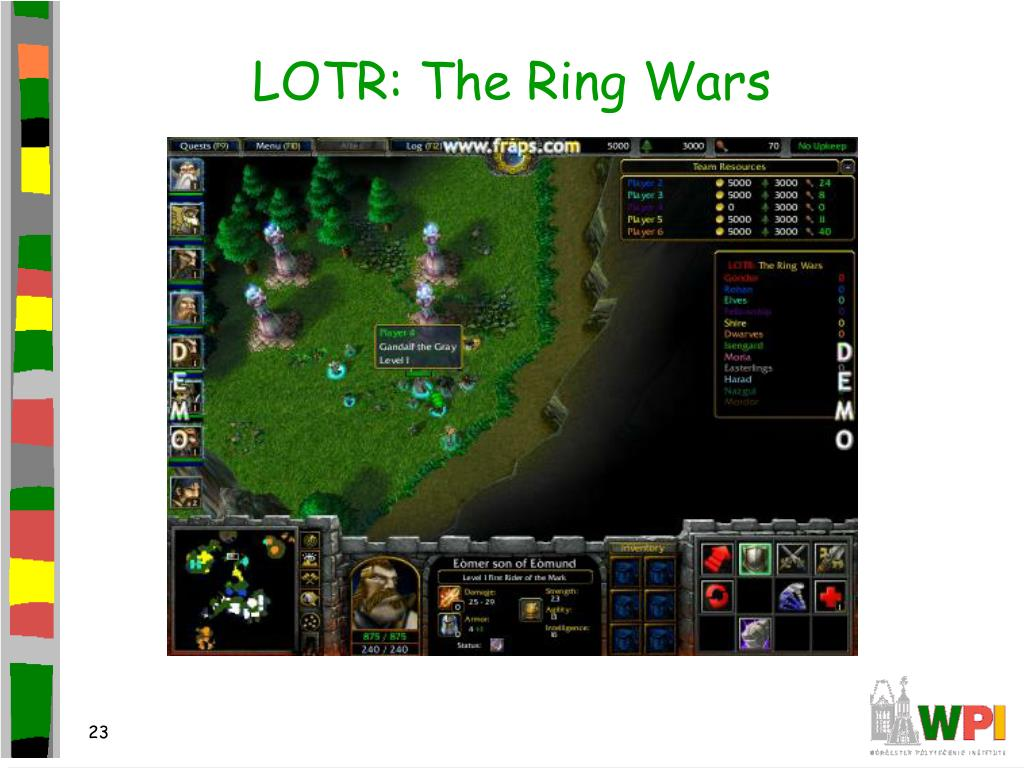 LOTR: The Ring Wars