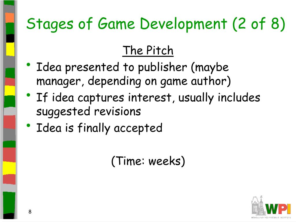 Stages of Game Development (2 of 8)