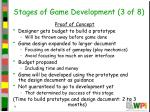 stages of game development 3 of 8