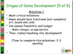 stages of game development 5 of 8