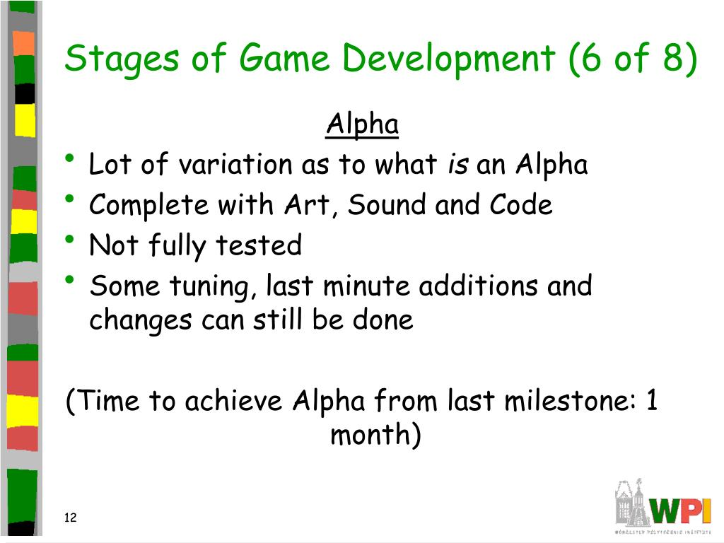 Stages of Game Development (6 of 8)
