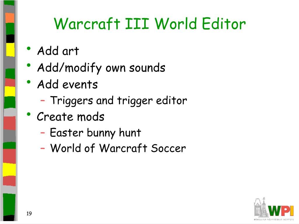 Warcraft III World Editor