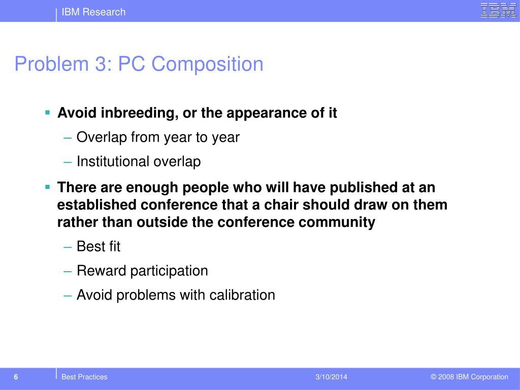 Problem 3: PC Composition