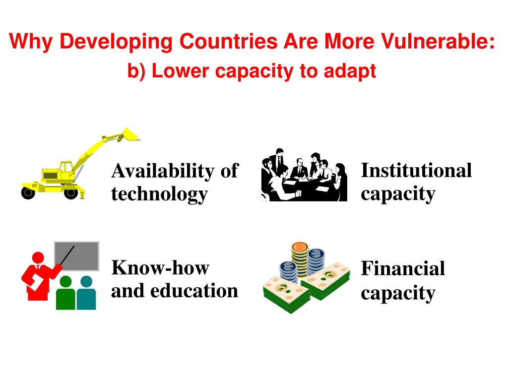 Why Developing Countries Are More Vulnerable: