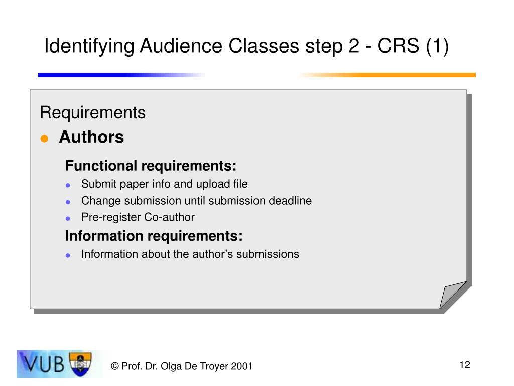 Identifying Audience Classes step 2 - CRS (1)