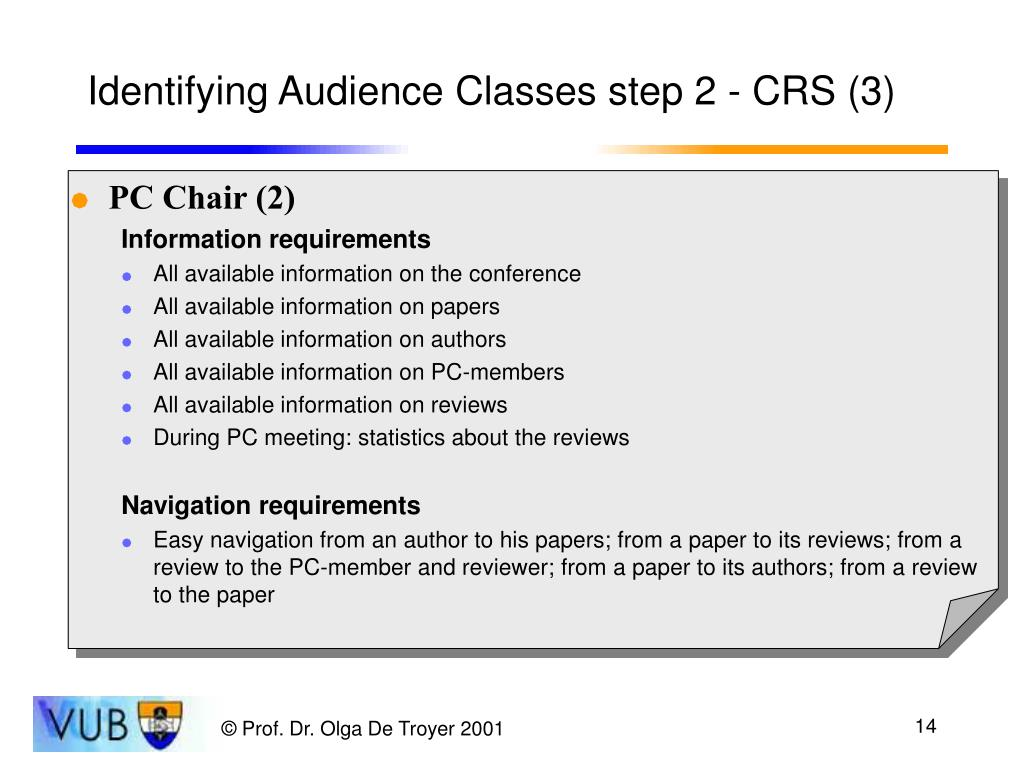 Identifying Audience Classes step 2 - CRS (3)