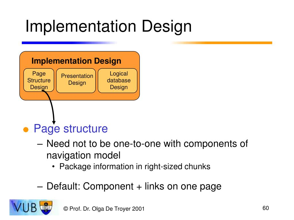 Implementation Design