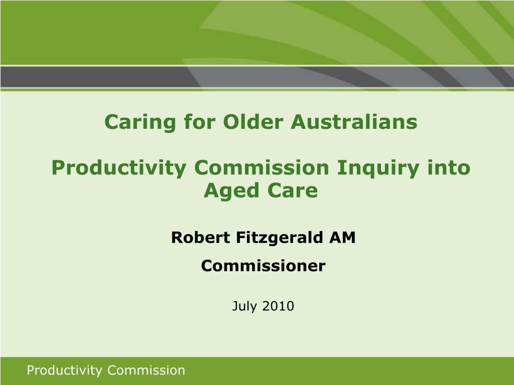 Caring for Older Australians