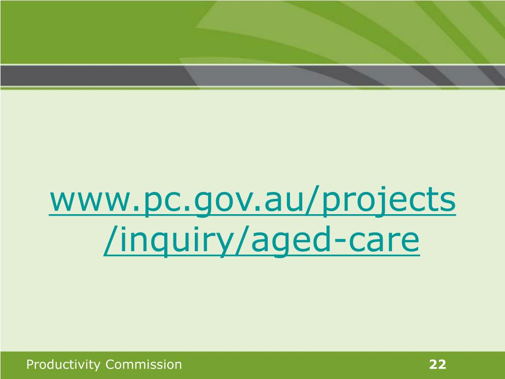 www.pc.gov.au/projects/inquiry/aged-care