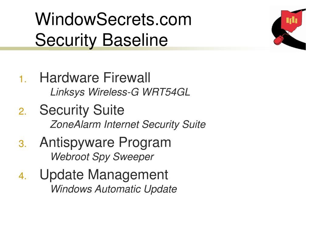 WindowSecrets.com