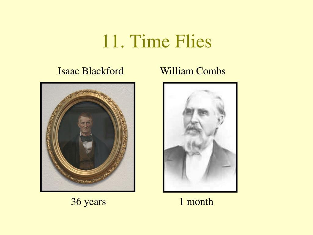 11. Time Flies