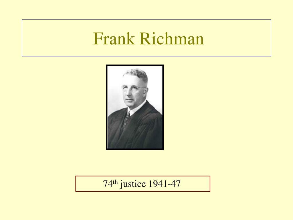 Frank Richman