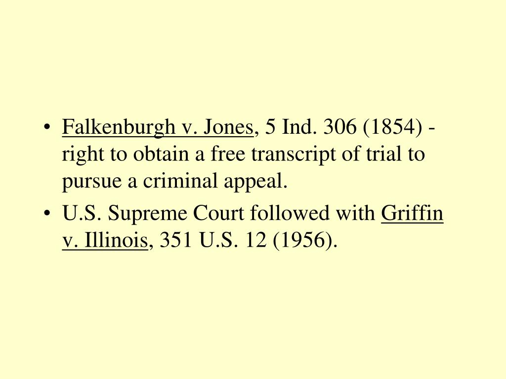 Falkenburgh v. Jones