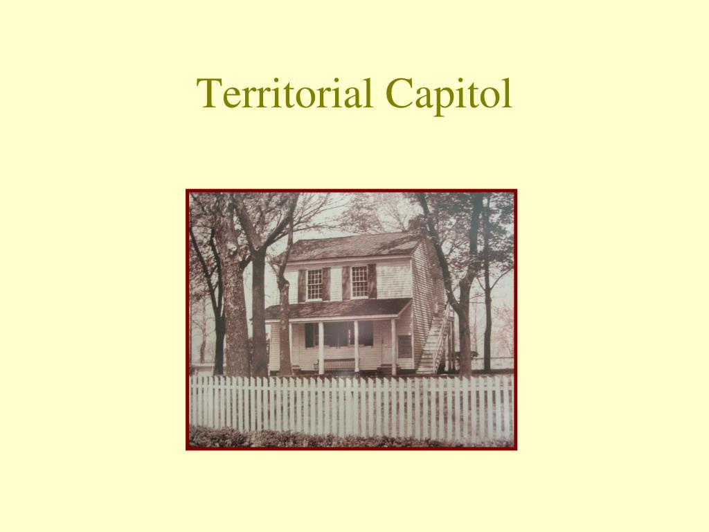 Territorial Capitol